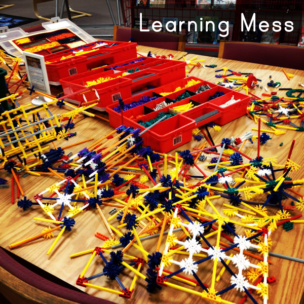 What's a Learning Mess?