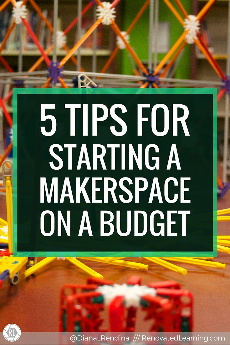 Establishing A Seasonal Capsule Part 1: 5 Tips For Starting A Makerspace On A Budget