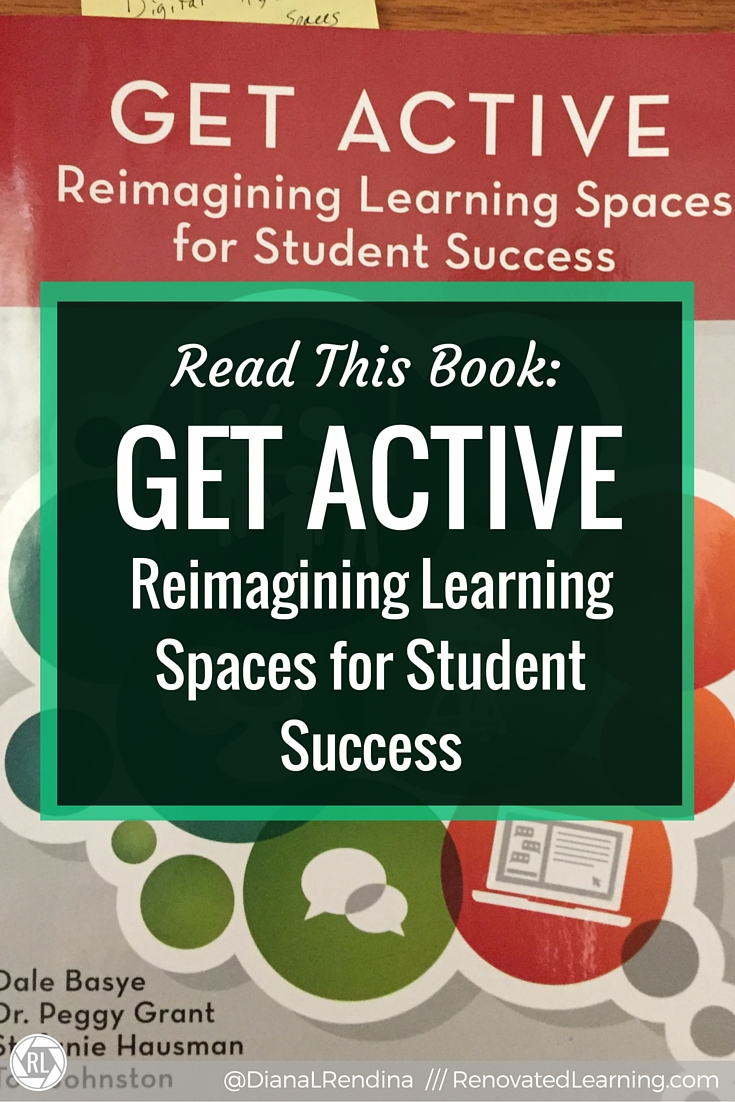 Read this book: Get Active: Reimagining Learning Spaces for Student Success | In my review of Get Active, I talk about the learning space design theory that this book discusses. In particular, I look into how active learning spaces play a role in school libraries.