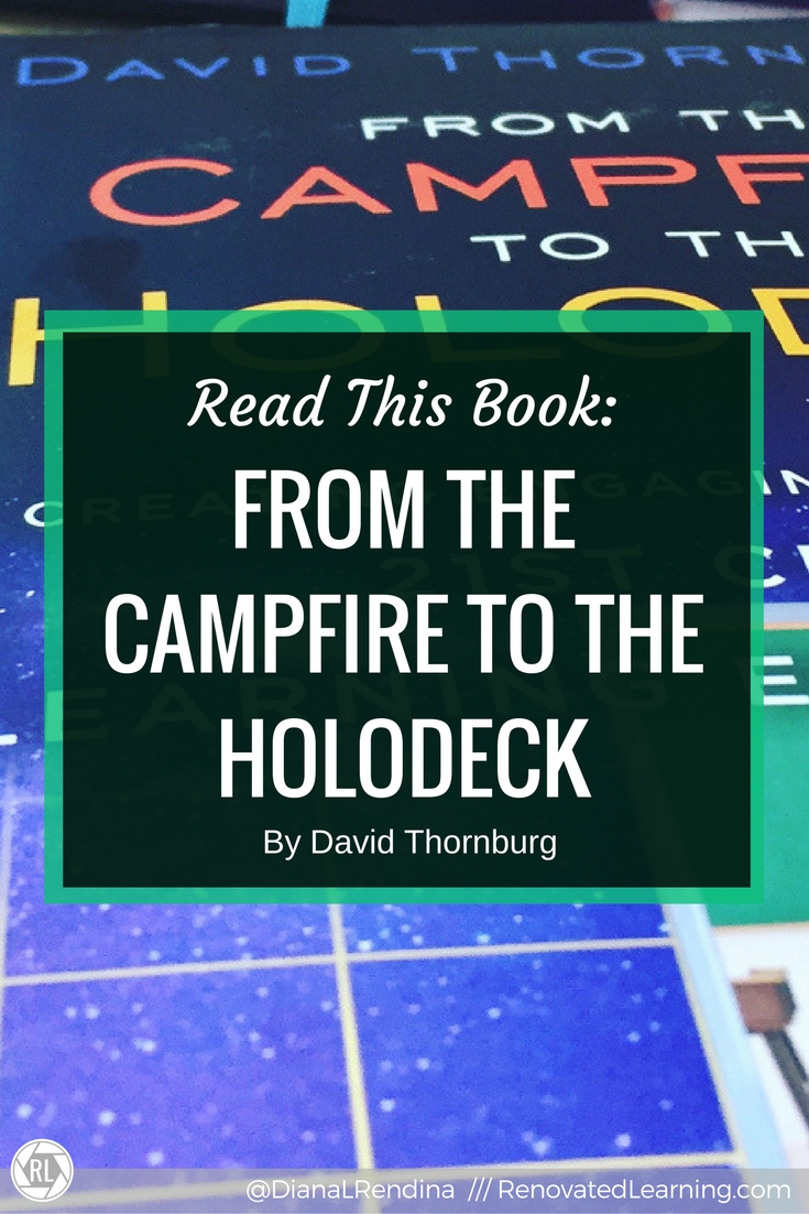 From the Campfire to the Holodeck - David Thornburg's amazing work looks at four primordial learning metaphors: campfires, watering holes, caves and life. He discusses why each one is essential for student learning in our schools.
